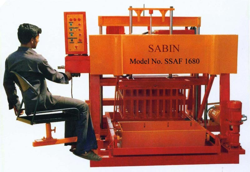 block laying machine