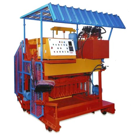 Fully Automatic Heavy Duty Hollow Block Machine