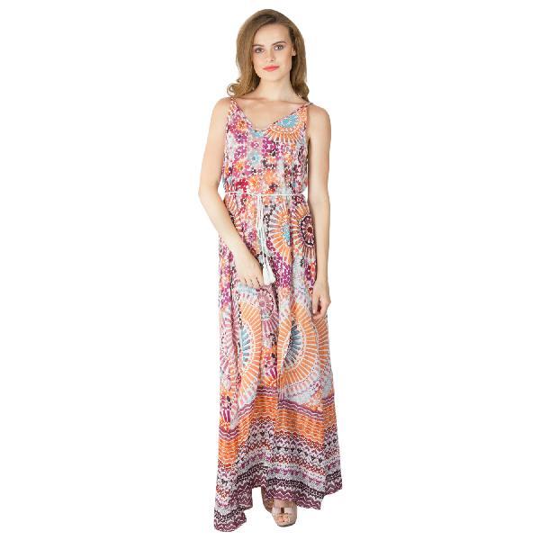 Ladies Printed Gowns