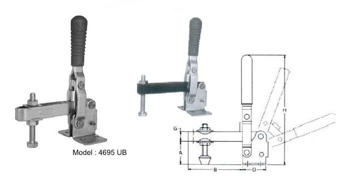 Hold Down Toggle Clamps Suppliers From Maharashtra