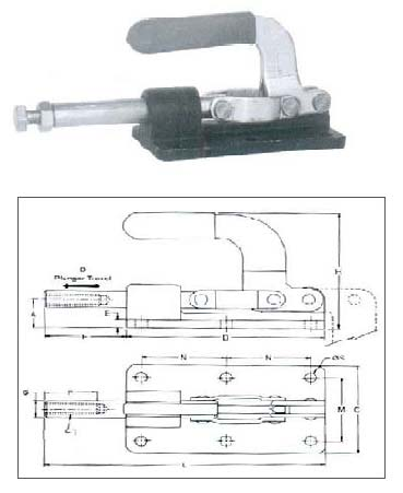 Push Pull Action Toggle Clamps Push Pull Toggle Clamps