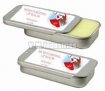 Cosmetic Tin Container