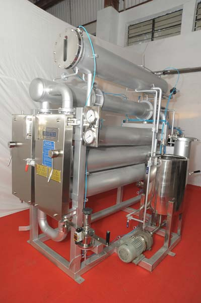 HTHP Horizontal Tabular Dyeing Machine