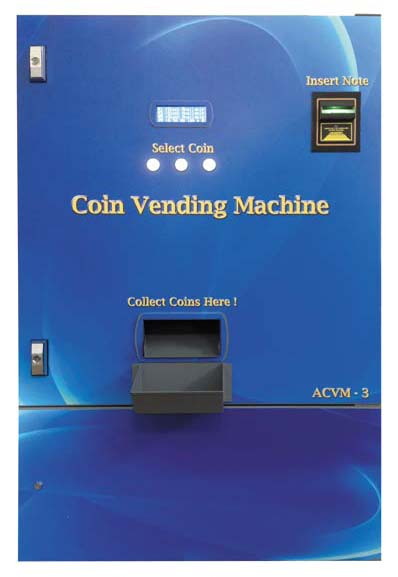 coins vending machine