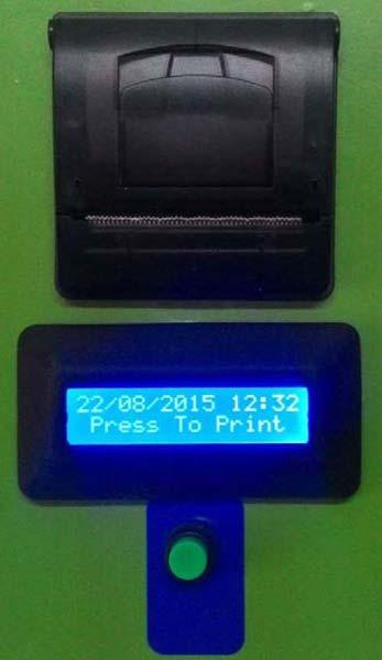 token operated vending machine