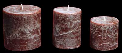 Rustic Candle
