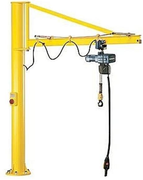 Jib Pole Crane : Jib cranes heavy duty industrial crane portable manufacturers