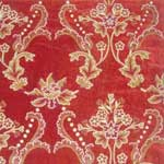 Crewel Embroidered Fabric