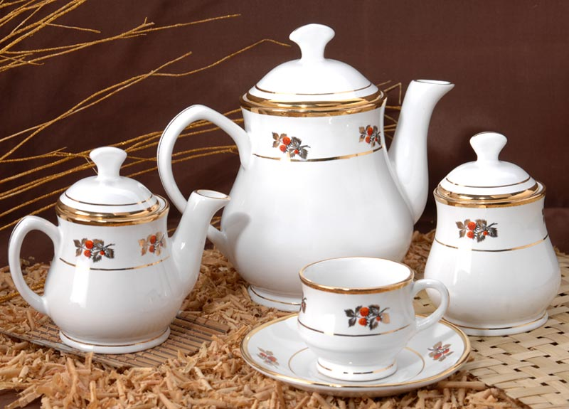 Stoneware Tea Set