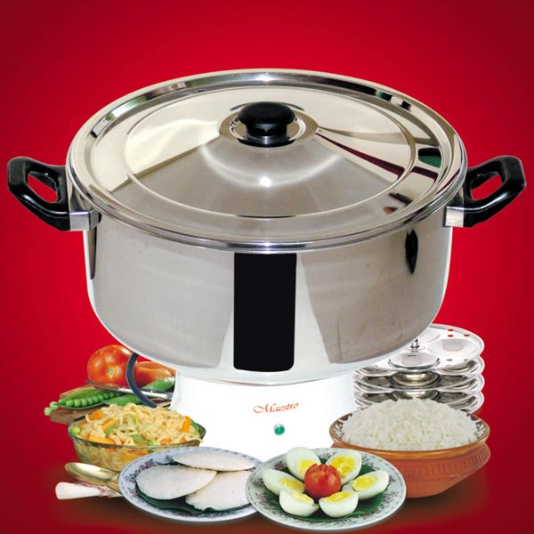 Electric Steam Cooker ~ Maestro electric steam cooker manufacturer and supplier