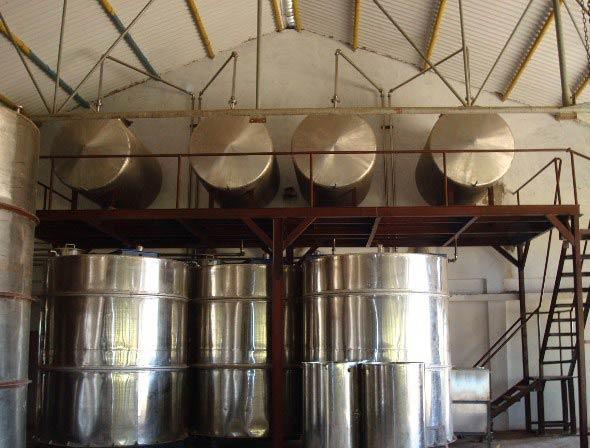 Liquor Plant Tank Fabrication