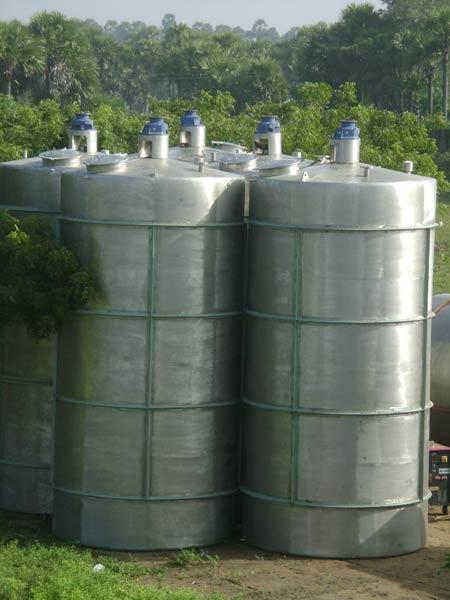 Site Work Near Chengalpet Tank Fabrication