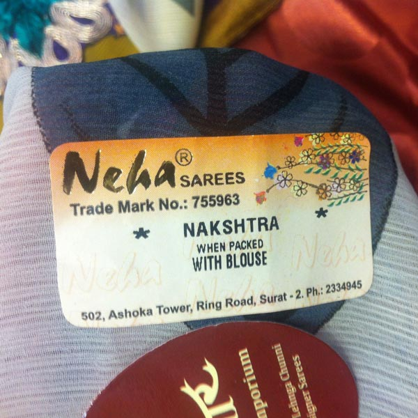 Saree Labels