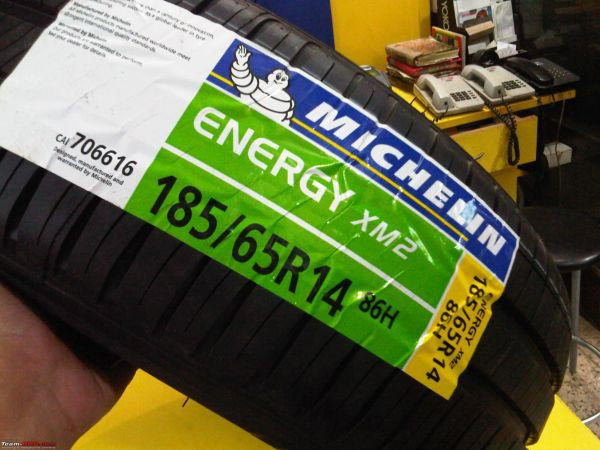 Tyre Stickers