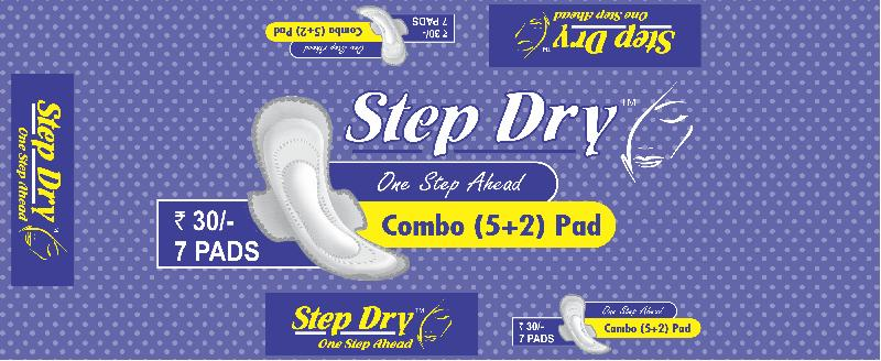 Step Dry Combo (5+2) Sanitary Pads