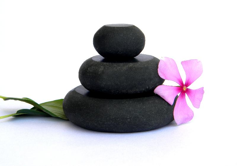 Round Hot Spa Massage Stones