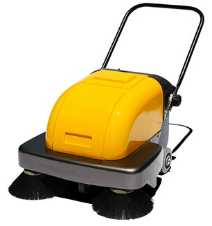 Electric Industrial Hand Push Floor Sweeper