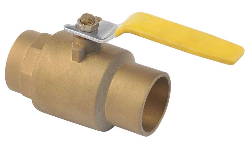 Two Piece Brass Ball Valve