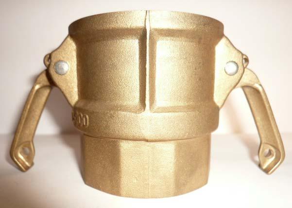 D Type Brass Camlock Couplings
