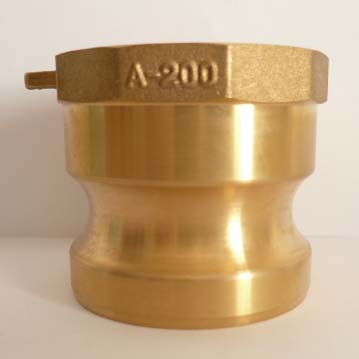A Type Brass Camlock Couplings