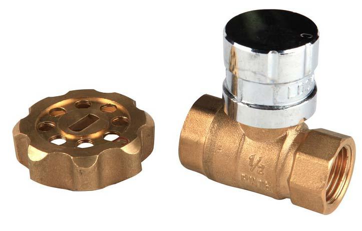 Lockable Brass Ball Valve (NRCI010)