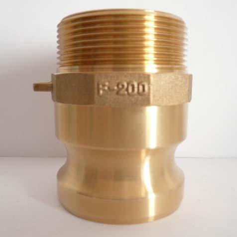 F Type Brass Camlock Couplings