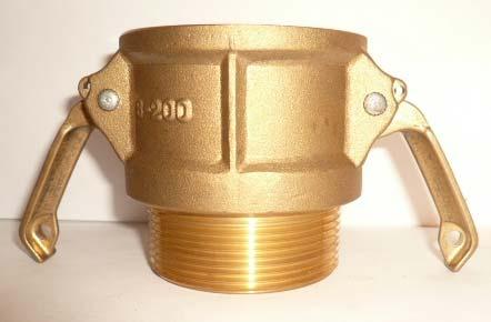 B Type Brass Camlock Couplings