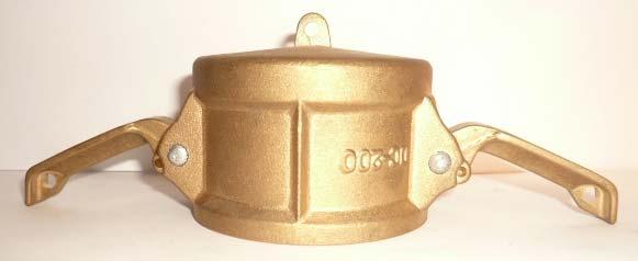 DC Type Brass Camlock Couplings