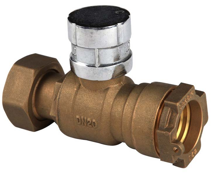 Lockable Brass Ball Valve (NRCI015)