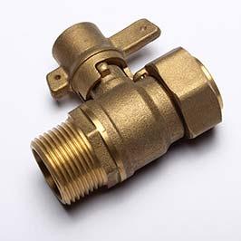 Water Meter Brass Ball Valve