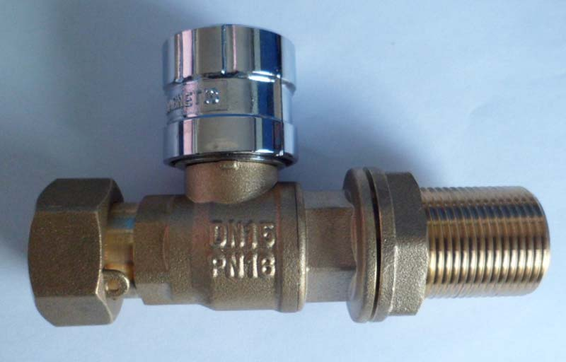 Lockable Brass Ball Valve (NRC012)