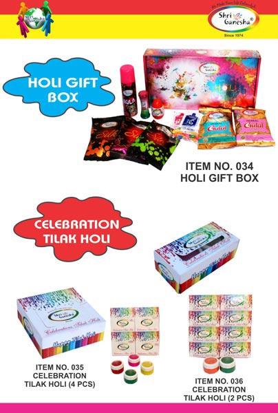 Holi Color Gift Pack