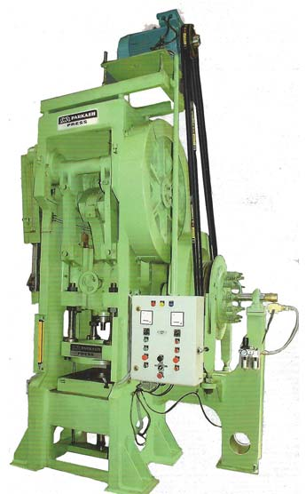 Deep Drawing Press With Pneumatic Clutch