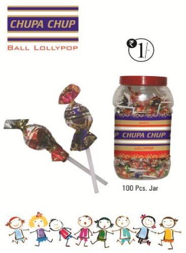 Chupa Chup Ball Type Lollipop