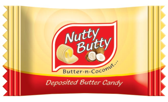 Nutty Butty Fruit Candy