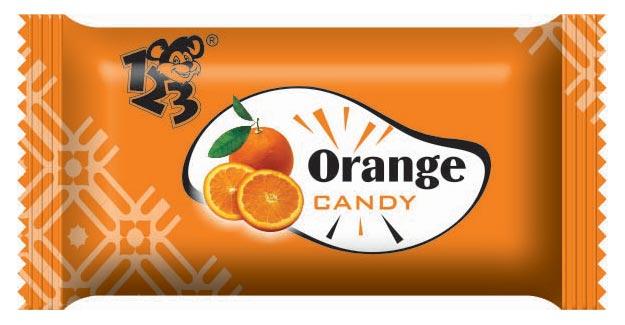 Orange Fruit Candy
