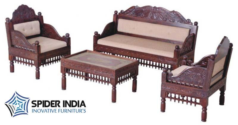 Teak Wood Carved Sofa SetTeak Wooden Carved Sofa Set Suppliers