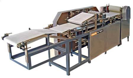 Semi Auto Papad Machine