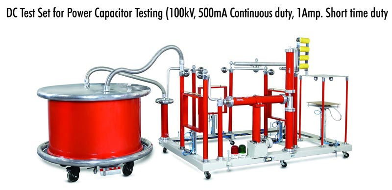 100kV & 100kV A for Power Capacitor Testing