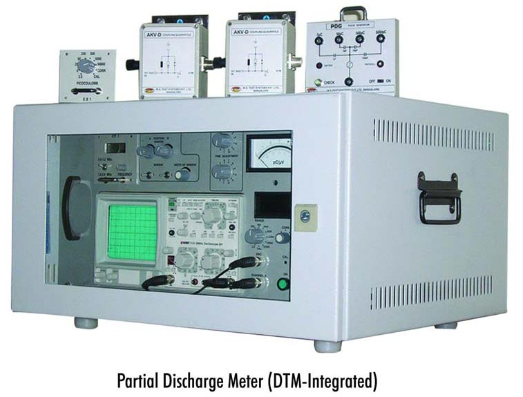 Partial Discharge Meter (DTM Integrated)
