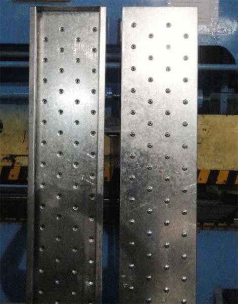 Galvanized Steel Scaffold Planks