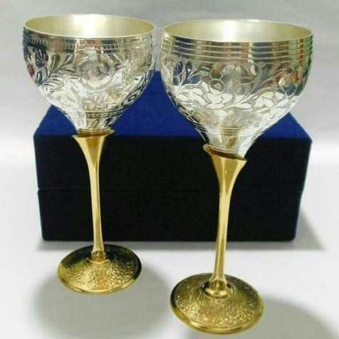 Brass Wine Glasses