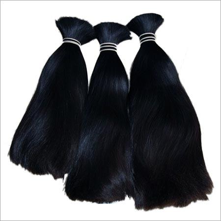 Double drawn волос