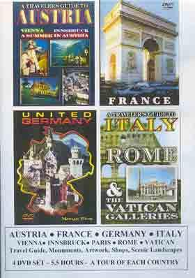 Rome Travel Guide DVD