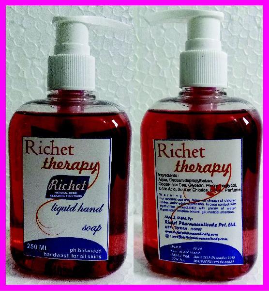 Richet Transparent Hand Wash Liquid