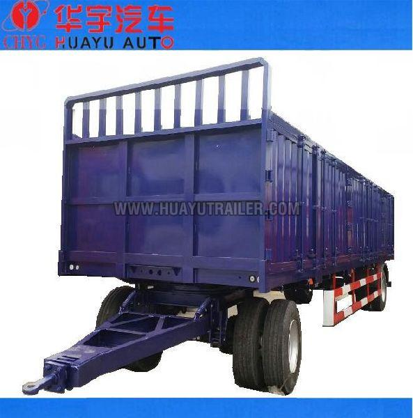 2 axle full cargo trailer