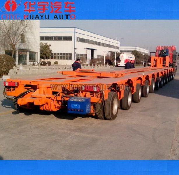 200tons heavy duty transformer transport semi trailer