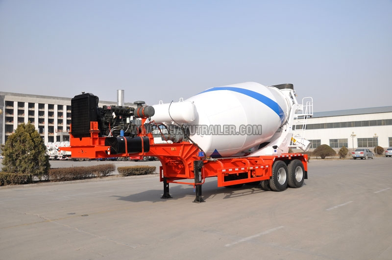 Concrete Mixer Semi Trailer (12M)