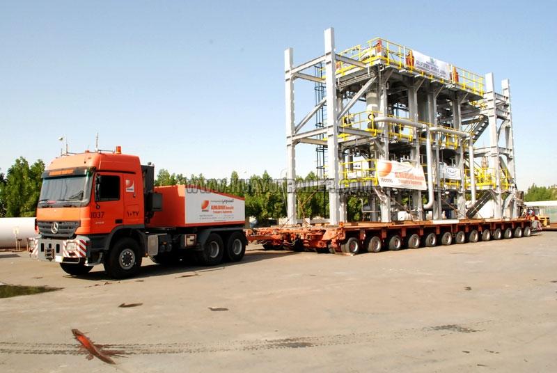 Multi Axles Hydraulic Electrical Equipments