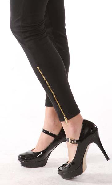 Ankle Zipper Legging 02
